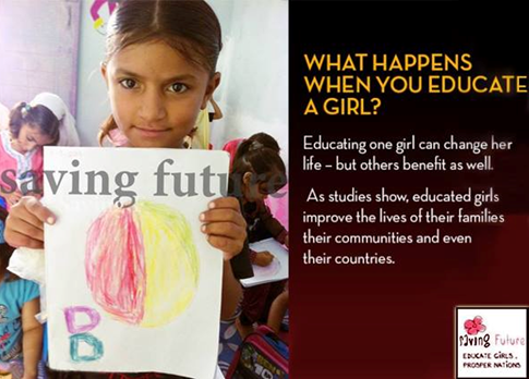 Saving Future Girls Education in Pakistan, educate girls of pakistan, girls education in pakistan