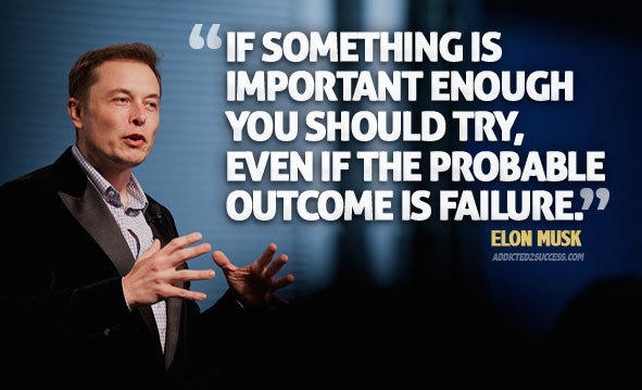 Elon Musk advice for Entrepreneurs